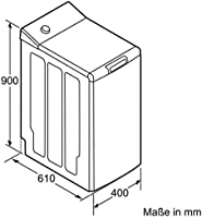 Bosch Maxx 6 WOT24254BY Independiente Carga superior 6kg 1200RPM A ...