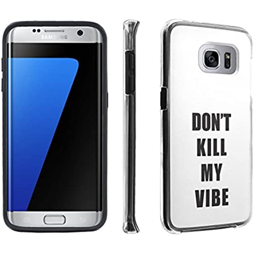 Samsung Galaxy S7 Edge / GS7 Edge [5.5 Screen] Case, [SkinGuardz] Hybrid Tough Impact Resistant Case - [Kill Sales
