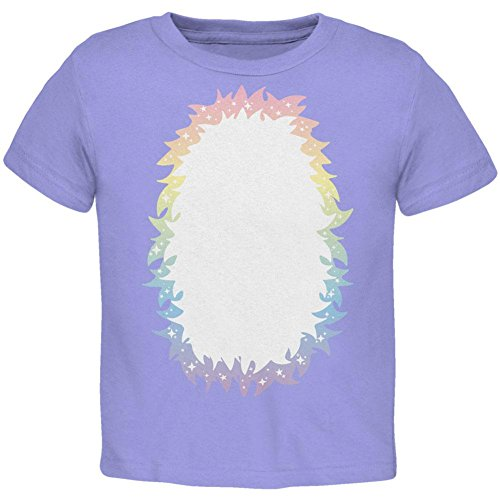 [Halloween Unicorn Costume Rainbow Pony Toddler T Shirt Periwinkle 2T] (Periwinkle Costume Toddler)
