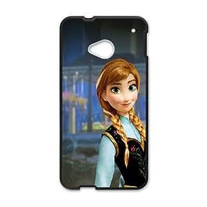 HTC One M7 Cell Phone Case Black anna frozen illust disney art N4T3DX