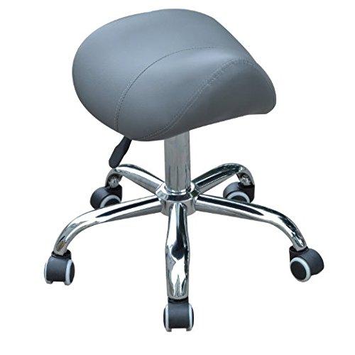 Hydraulic Adjustable Rolling Massage Salon Spa Stool Saddle