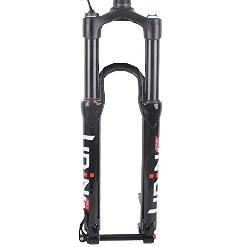 ZTTO UDING Remote Lock Tapered Tube Air Fork Suspension 650b 27.5 Inch 15mm Thru Axle 120mm Travel for MTB Mountain Bike Bicycle by 365-ZTTO