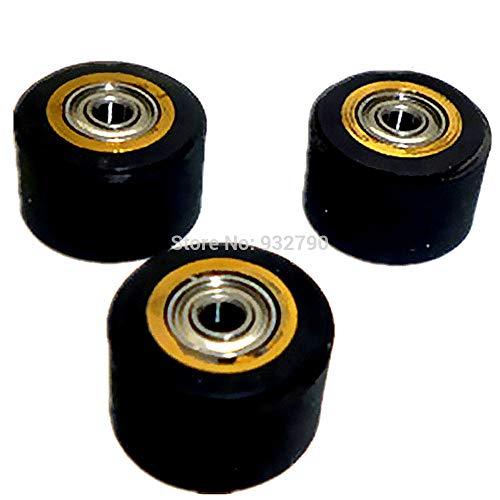 FINCOS 1/2/3/4/5/6pcs Engraving Machine Pinch Roller 5mmx11mmx16mm Paper Pressing Wheel for Roland Vinyl Plotter Cutter Cutting Plotter - (Color: 4pcs) by FINCOS (Image #5)