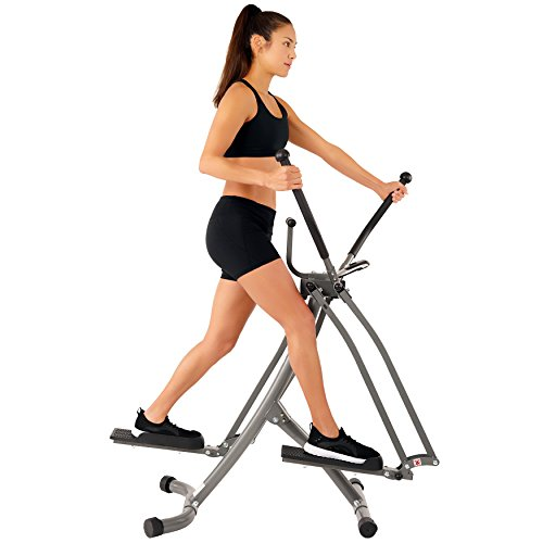 EFITMENT Air Walker Glider Elliptical Machine with Side Sway Action & 360 Motion for Exercise and Fitness - E020 by EFITMENT (Image #1)