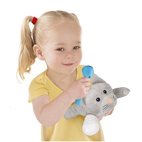 "41EHjpdr9NL - Melissa & Doug Examine & Treat Pet Vet Play Set (Animal & People Play Sets, Helps Children Develop Empathy, 24 Pieces, 10.5"" H x 13.5"" W x 3.5"" L)"