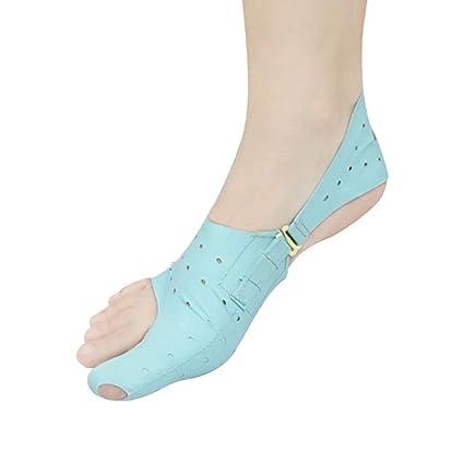 Enderezadora de Dedo del pie Corrector de juanetes | Big Toe Hallux Valgus Soporte para Tratamiento ...