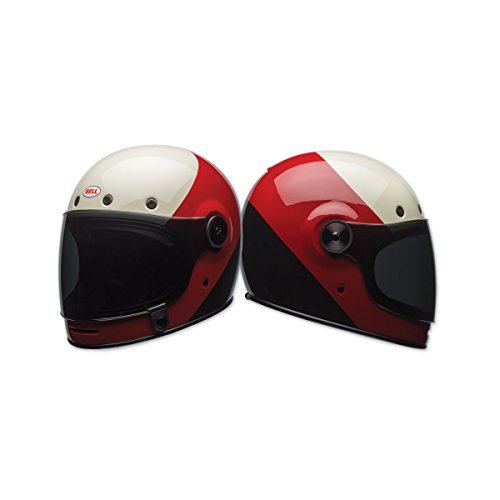 Bell Bullitt Unisex-Adult Full Face Street Helmet (Triple Threat Red/Black, X-Small) (D.O.T.-Certified) by Bell