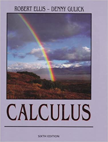 Calculus Robert Ellis Denny Gulick 9790759313797 Amazon