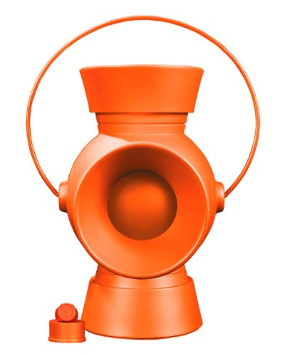 DC Collectibles Orange Lantern Power Battery and Ring Prop Replica, 11 Scale