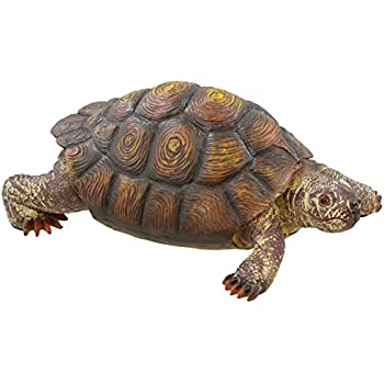 Box Turtle Garden Decoration Collectible Tortoise Terrapin Figurine Statue