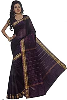 Trendofindia Indian Bollywood Sari Arco Iris Púrpura