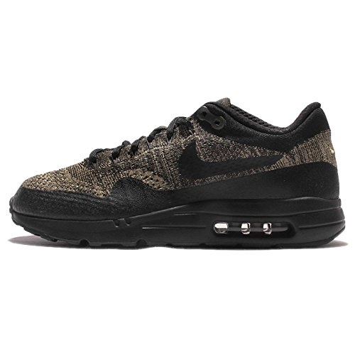 Nike Air Max 1 Ultra Flyknit Men's Shoe (15, Neutral Olive/Black/Sequoia) (Nike Air Max 1 Ultra Flyknit Black)