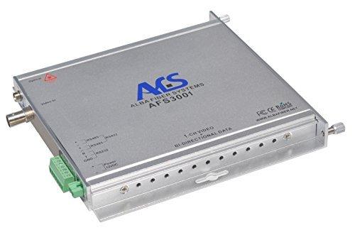 1V1D 1 Channel Video +1 Channel Bidirectional RS232/RS422/RS485 Data Fiber Optic Converter /Transmitter / Receiver, FC, Singlemode 20km or multimode 2km, For CCTV Surveillance Security systems