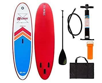 explorer sup tabla inchable de paddle surf isup con pala