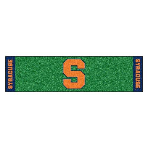 Fanmats NCAA Syracuse University Orange Nylon Face Putting Green Mat by Fanmats