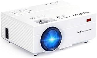 Mini Projecteur, Byakov 2500 Lumens Vidéoprojecteur Portable Retroprojecteur, 55000 Heures Multimédia Home Cinéma...