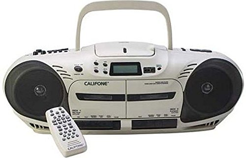 Califone 2455AV-04 Performer Plus Multimedia Player/Recorder, 14 Watts, Loud Enough for Groups up to 100 People, can also be used as Mini PA System, Built-In Mic Records Lessons/Student Responses by Califone