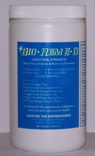 Bio Rem E D Sewer   Drain Line Treatment Bacteria  1 Lb  Container