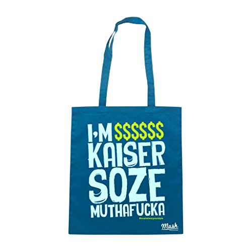 Borsa I'M KAISER SOZE - Blu Royal - FILM by Mush Dress Your Style