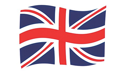 Laminated Poster United Kingdom Union Jack Flag Illustrations Print