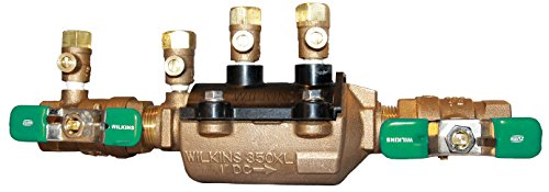 Zurn Wilkins 1-350XL Double Check Lead-Free Composite Vessel Valve Assembly, 1