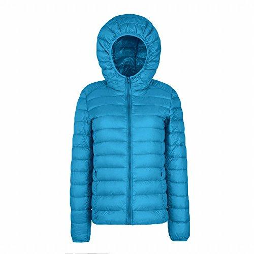 Bref, même lautomne et lhiver vers le bas de veste à manches longues, bleu, 2XG relaxe