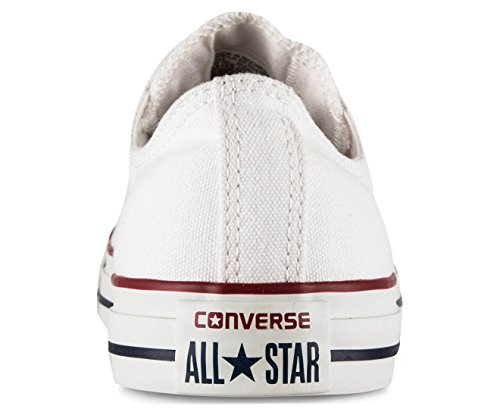 Omgekeerde Unisex Chuck Taylor All Star Lage Top Optische Witte Sneakers - 8 F (m) Uk