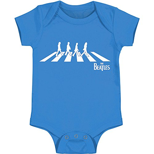 Beatles The Abbey Road Baby Romper Bodysuit - Blue (18 Months) (Shirt Beatles Baby)