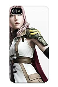 Creatingyourself Case Cover For Iphone 4/4s - Retailer Packaging Final Fantasy Final Fantasy Xiii Claire Farron Protective Case