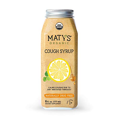 Maty's Organic Cough Syrup, 6 Fluid Ounce, Soothes Throats  Calms Dry Coughs reviews