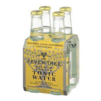 Fever Tree Soda 4pk Tonic Water