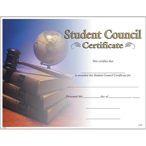 Amazon.com: Award Certificates (10 Pack) - Student Council: Sports ...