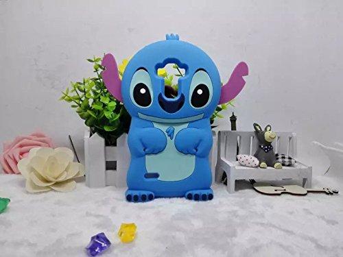LG G3 Vigor Case Cover ,Stingna 3D Blue Stitch &Lilo Soft Silicone Case Cover For LG G3 Vigor,G3 Mini + Free Gift (G3mini)