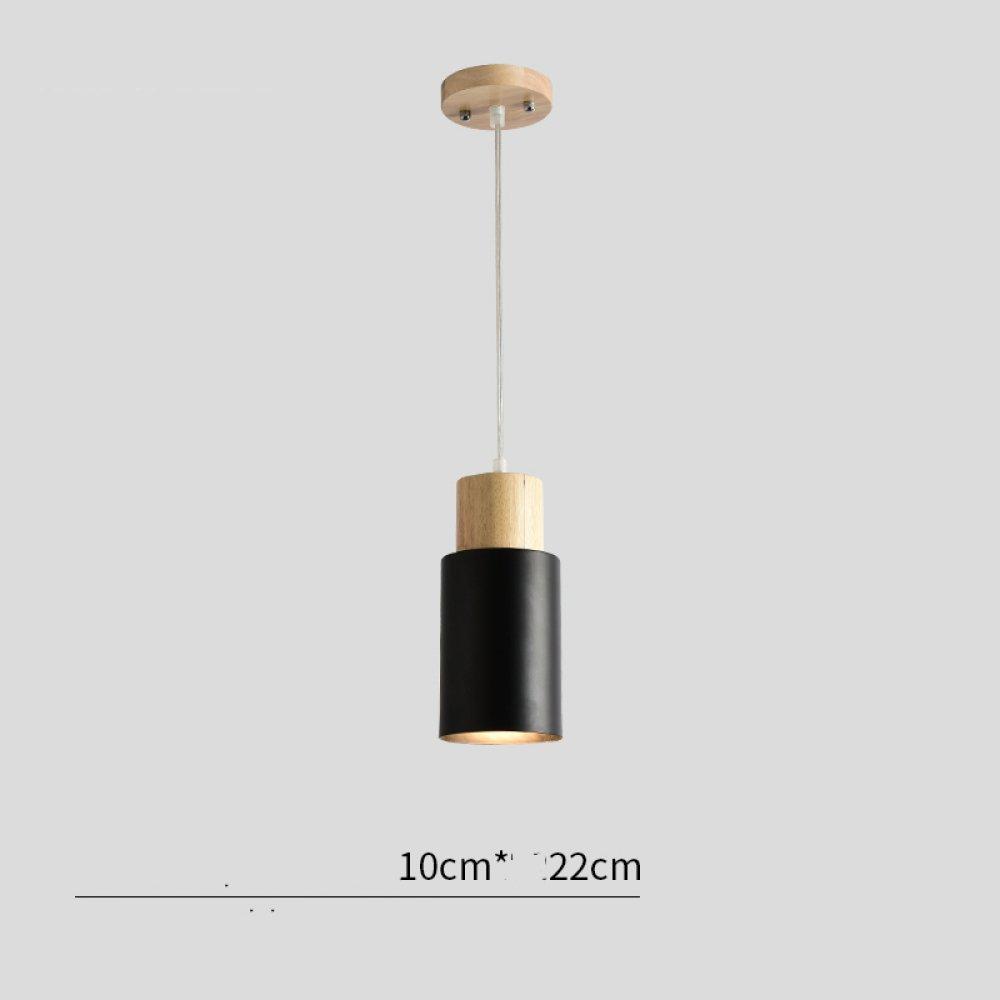 PLLP Lámparas de madera nórdicas, lámparas de techo del ...