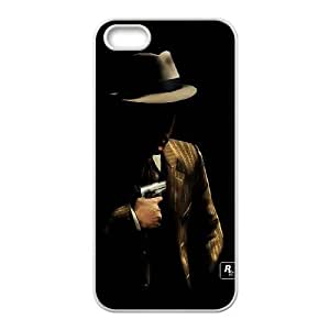 iPhone 4 4s Cell Phone Case White L.A. Noire Ocfhk