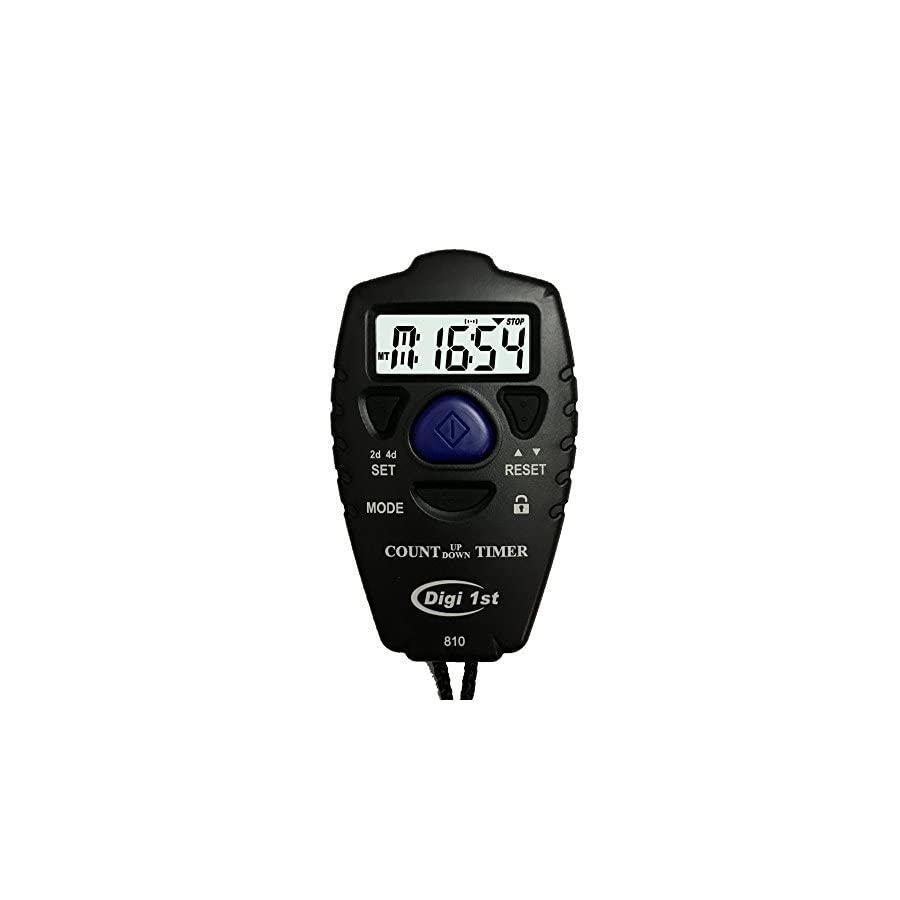 Digi 1st T 810 9999 Hour/Minute Handheld Count Up and Countdown Timer