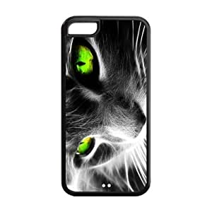 Phone Cases, Cool Cat Hard TPU Rubber Cover Case for ipod touch4