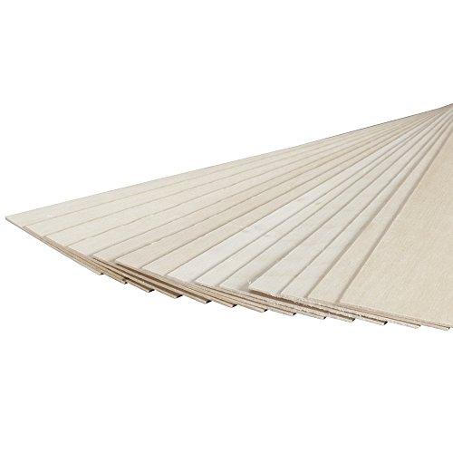 887526 Basswood Sheet 1/16 x 3 x 24  (15)