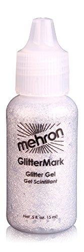 Mehron Makeup GlitterMark (.5 oz) (Silver) ()