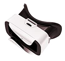 VR Shinecon 3.0 Mini Virtual Reality Headset, Use with Smartphones iOS & Android - White
