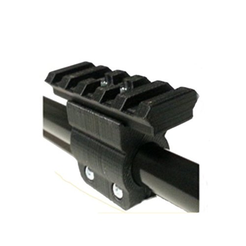1.5mm Wall .625 Cal Tactical Mounting Rail System By Venom Blowguns™ Compatible with Cold Steel Magnum™ and Venom Blowguns™ 1.5mm Wall Blowguns (Rail System Mounting)