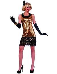 Forum Novelties Women's Ritzy Glitzy Sequin Flapper Dress
