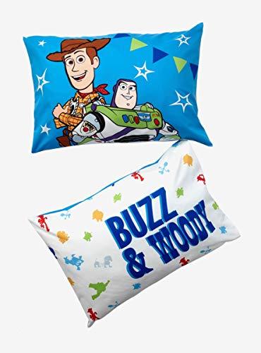 Disney Pixar Toy Story 4 Buzz & Woody Pillowcase Set]()