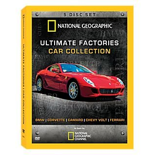 National Geographic Ultimate Factories Car Collection 5 Disc Set