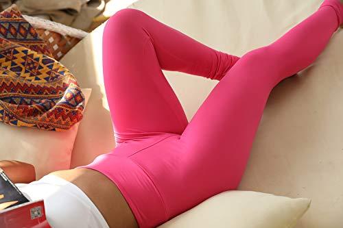 Buttery Soft Christmas Workout Leggings High Waisted Yoga Leggings Pants with Pockets - Reg & Plus Size (Fuschiat, Plus)
