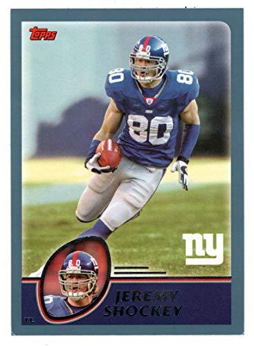 (Jeremy Shockey (Football Card) 2003 Topps # 103 Mint )