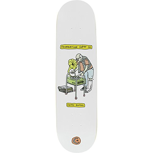 Foundation Skateboards Corey Duffel Senior Citizen Skateboard Deck - 8