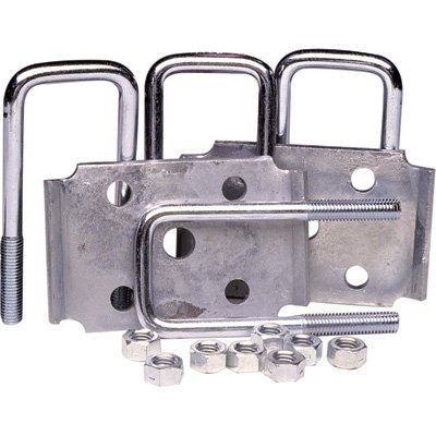 - Ultra-Tow Tie Plate U-Bolt Set - Fits 2in. Square Axles, 2000-Lb. Capacity, Model# 56117
