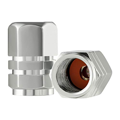 Best tire valve caps silver to buy in 2019