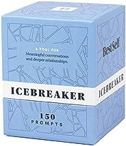 BestSelf Co. Conversation Starter Icebreaker - Deeper Talk Deck Inspiring Prompts That Strengthen Relationship